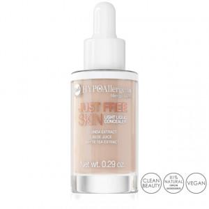 Fond de Ten Anticearcan Lichid Hipoalergenic Just Free Skin, 03 Peach Bell Cosmetics