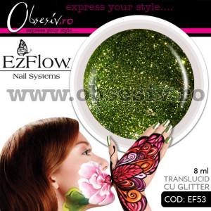 Gel color unghii Ez Flow - EF53 Glitter (Geluri profesionale EzFlow)