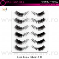 Gene False Banda, Fashion Lashes, Cod F 28, Gene False din Par Natural