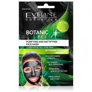 Masca Față Curățare Hidratare și Matifiere Ten Botanic Expert Eveline Cosmetics