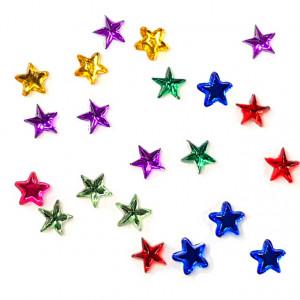 Pietricele Unghii Multicolore in Forma de Stelute