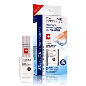 Tratament Unghii Stralucire de Diamant Eveline Cosmetics Diamond Hardening Nail Conditioner