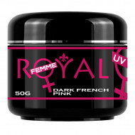 Gel UV Dark French Pink Royal Femme, Cover, 50 ml
