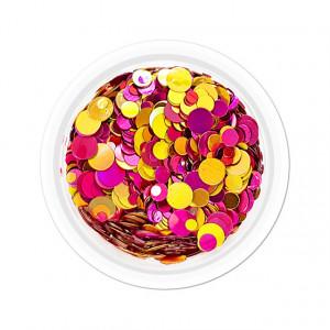 Confetti Unghii Multicolore Cod CU-05, Accesorii Nail Art