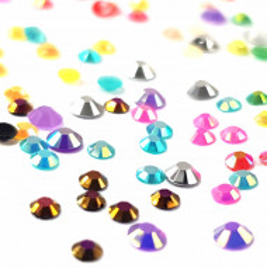 Decoratiuni Unghii Pietricele Multicolore Diametru Ø 2-3mm, Accesorii Nail Art