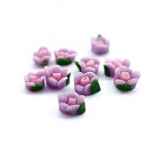 Flori Ceramica Unghii Cod FC03 10 Buc, Accesorii Nail Art
