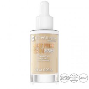 Fond de Ten Anticearcan Lichid Hipoalergenic Just Free Skin, 04 Sand Bell Cosmetics