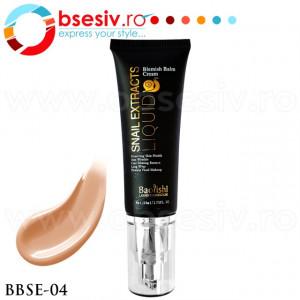 Fond De Ten Crema Cu Extract de Melc, Cod BBSE-04, Gramaj 50ml, Brand Baolishi, Blemish Balm Cream Snail Extract