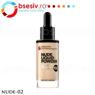 Fond De Ten HYPO Allergenic, Nude Liquid Powder 02, Bell Defines Beauty