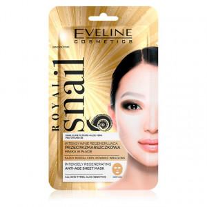 Masca de Fata Anti Imbatranire si Regenerare Intensa Eveline Cosmetics Royal Snail