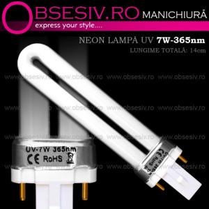Neon 7Watt 365nm pentru Lampa UV Manichiura