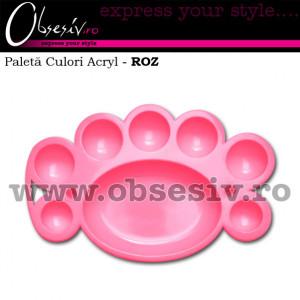 Paleta Culori Acryl - ROZ