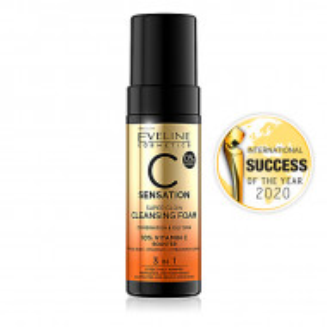 Spuma Iluminare si Curatare Ten 3in1 Super Glow C Sensation Eveline Cosmetics