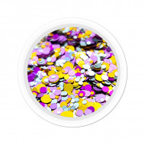 Confetti Unghii Multicolore Cod CU-04, Accesorii Nail Art