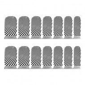 Abtibilde Unghia Intreagă 14 Buc - ZB1004 - Stickere Unghii