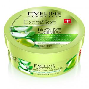 Crema Fata si Corp Eveline Cosmetics Extra Soft Bio Olive Aloe Vera