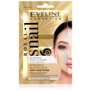 Crema Masca Ten Anti-Riduri si Intens Revitalizanta, Royal Snail Eveline Cosmetics