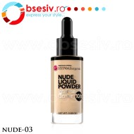 Fond De Ten HYPO Allergenic, Nude Liquid Powder 03, Bell Defines Beauty