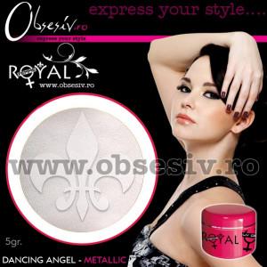 Gel colorat unghii Royal Femme DANCING ANGEL METALLIC (Geluri Profesionale Unghii)