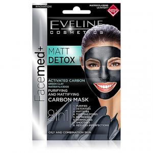 Masca Purificare si Hidratare Ten Gras si Mixt HYDRA Deep Detox Green Clay Eveline