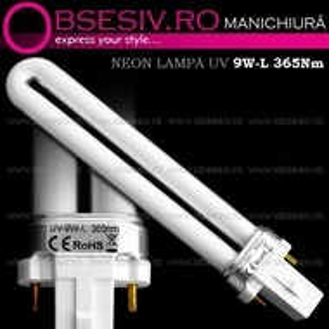 Neon 9Watt 365nm pentru Lampa UV Manichiura