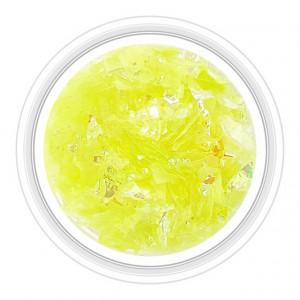 Paiete Unghii Efect de Gheata Culoare Verde Neon, Cod GU-VN
