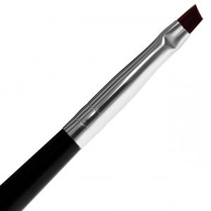 Pensula Gel Unghii One Stroke No 4 cu Capac Brand Lila Rossa