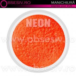 Pigmenti Geluri, Culoare Orange NEON, Pigmenti Colorati Manichiura - Unghii