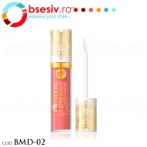 Ruj Lichid Mat Pentru Buze, Cod BMD-02, Producator Bell, Gama Moroccan Dream Matte Liquid Lips, Rujuri Profesionale Make-Up