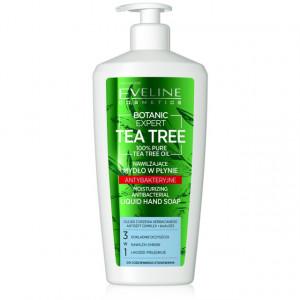 Sapun Lichid Antibacterian cu Ulei din Arbore de Ceai 3in1 Botanic Expert Tea Tree Oil 100% Pure Eveline