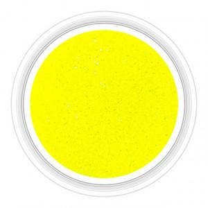 Sclipici Unghii Neon Culoare Galben Cod SN-01