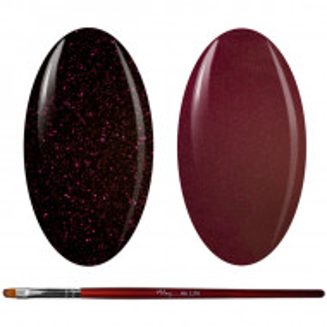 Kit Geluri Color + Pensula Gel Unghii, Cod K2GP-48S/47S