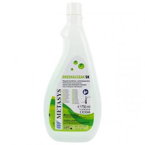Solutie Igienizare Suprafete Green & Clean SK fara Alcool, 750ml