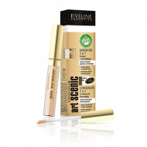 Concealer 2 in 1 Eveline Cosmetics Art Scenic, 04 Light