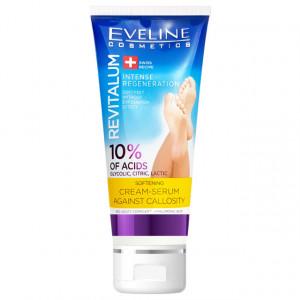 Crema Ser Picioare 10% Acid Glycolic Citric Lactic, Eveline