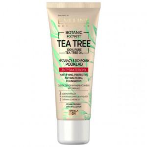 Fond de Ten cu Protectie Antibacteriana Vegan 100% Pure Tea Tree Oil Eveline Cosmetics 04 Vanilla