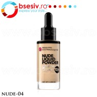 Fond De Ten HYPO Allergenic, Nude Liquid Powder 04, Bell Defines Beauty