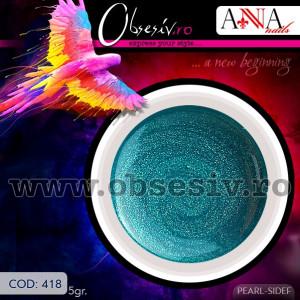 Geluri Colorate Anna Nails 418 - Gel Color UV Unghii