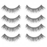 Gene False Banda Oriental Eyelashes Set 4 Perechi No F32