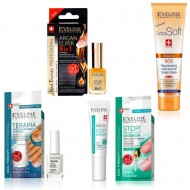 Kit Tratamente 4 in 1 Unghii si Maini, Eveline Cosmetics