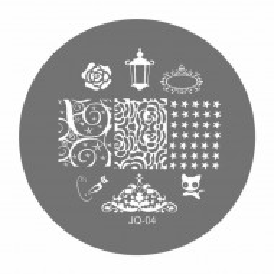 Matrite Stampile Unghii, Cod JQ-04, Accesorii Profesionale Manichiura