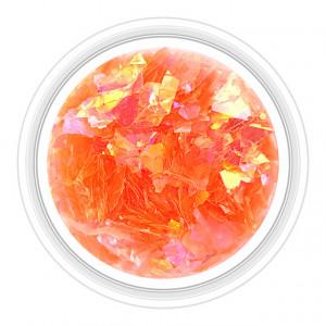 Paiete Unghii Efect de Gheata Culoare Roz Portocaliu, Cod PG-RP