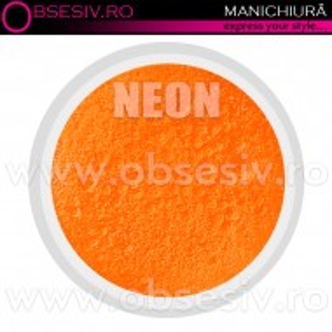 Pigmenti Geluri, Culoare Portocaliu NEON, Pigmenti Colorati Manichiura - Unghii