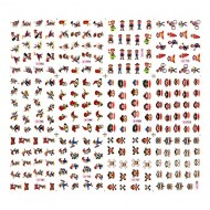 Stickere Unghii pe Baza de Apa (12 seturi) 1761 - 1772 (Abtibilduri Unghii Desene Animate - Tatuaje Unghii)