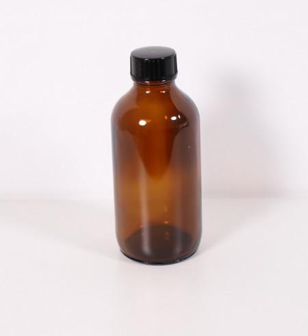 Recipient aromaterapie sticla bruna 240 ml cu capac