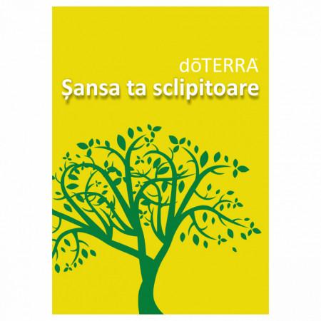"Brosura ""doTerra -Sansa ta sclipitoare"""