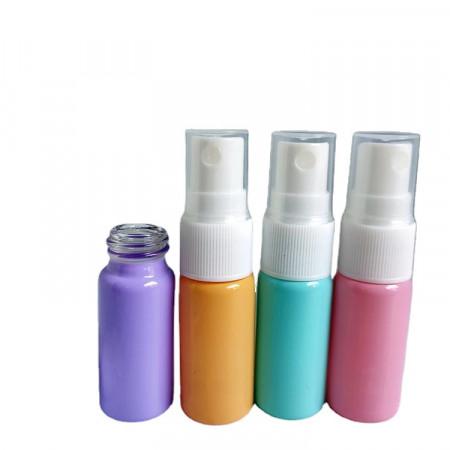 Recipient spray sticla color pastel 10 ml