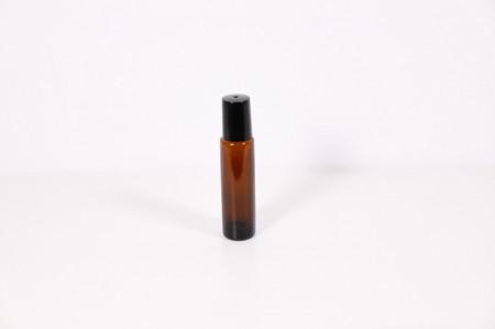 Recipient roll-on din sticla bruna 15 ml