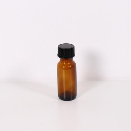 Recipient sticla bruna 15 ml cu capac