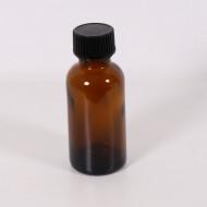 Recipient sticla bruna 30 ml cu capac